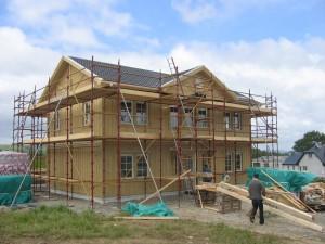 Baustelle in Irland
