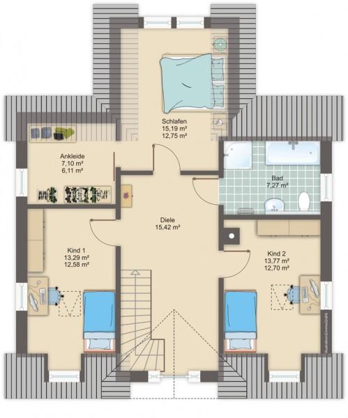 Häuser : HHK Holzhaus-Konzept | {Kinderzimmer planen 6}